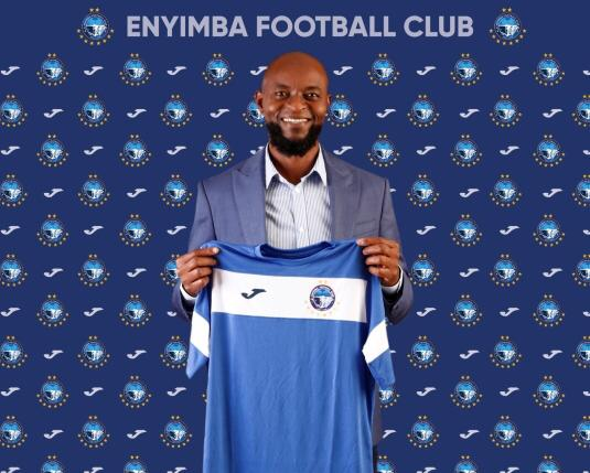 Finidi George's first words as Enyimba head coach