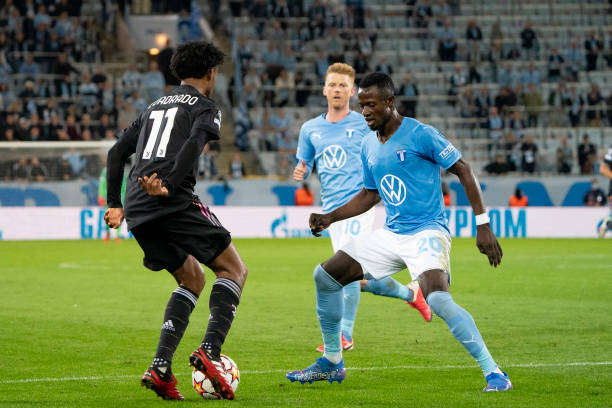 How Bonke's Malmo FF was outclassed by Juventus at the Eleda Stadion