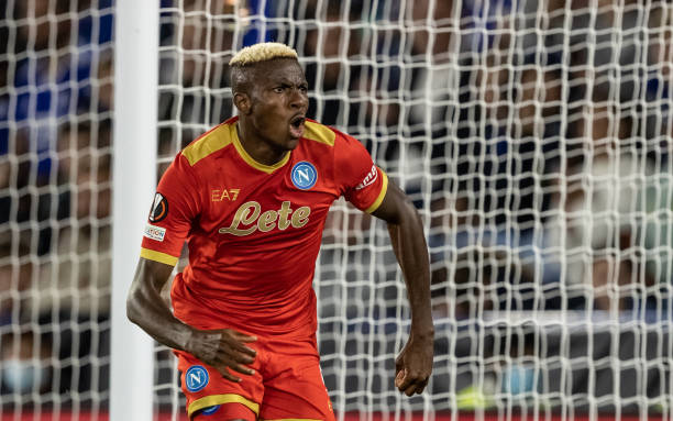 Victor Osimhen named Serie A player of the month for September