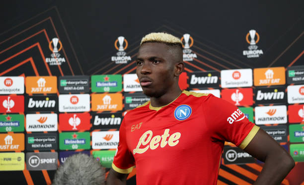 Osimhen will be very important to Napoli's title charge, Says Former Real Madrid Coach