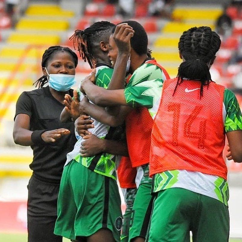 Uchenna Kanu proud to give Super Falcons victory over bitter rivals Ghana