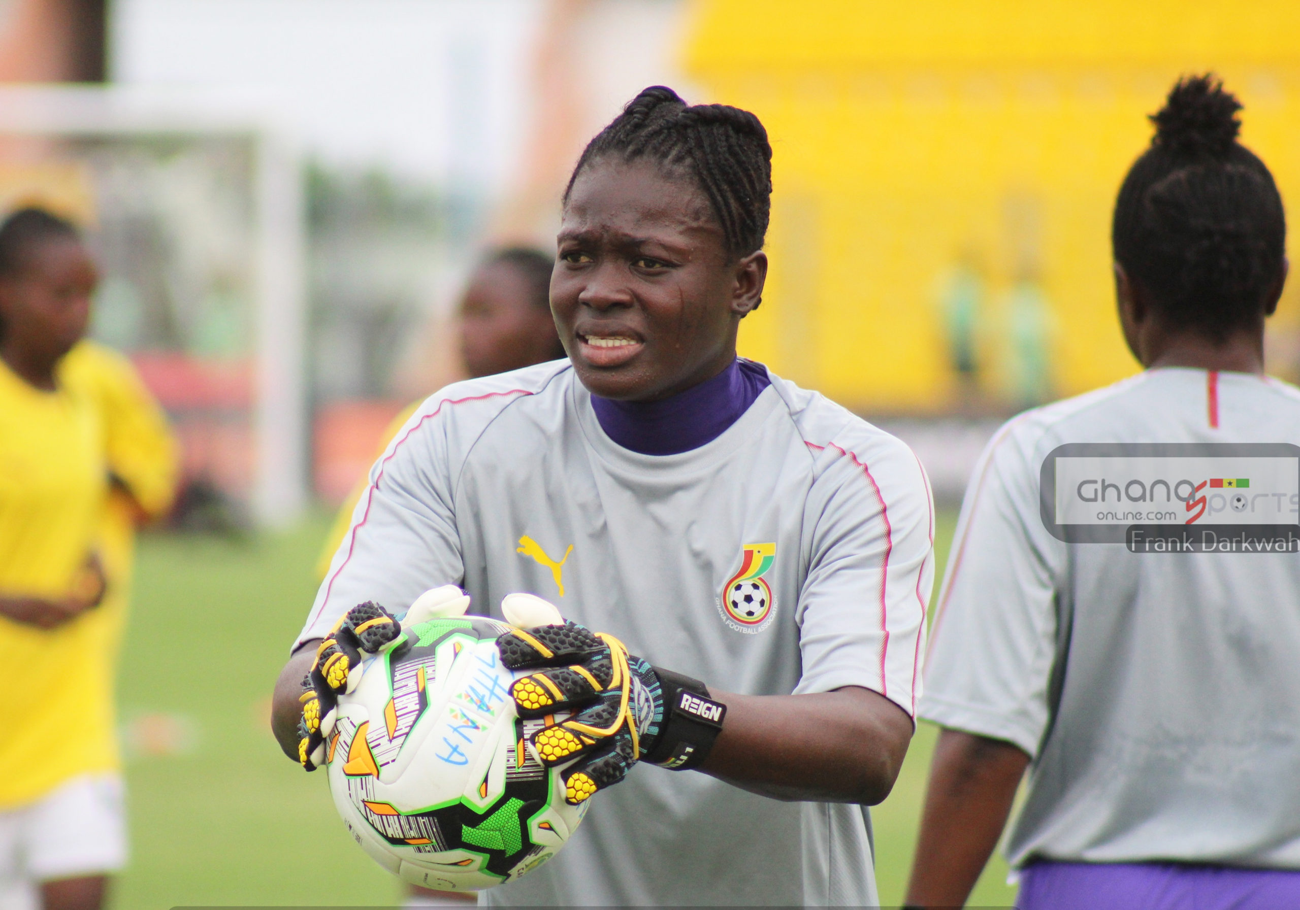 Our aim is to leave Nigeria with good result, says Ghana's Fafali Dumehasi
