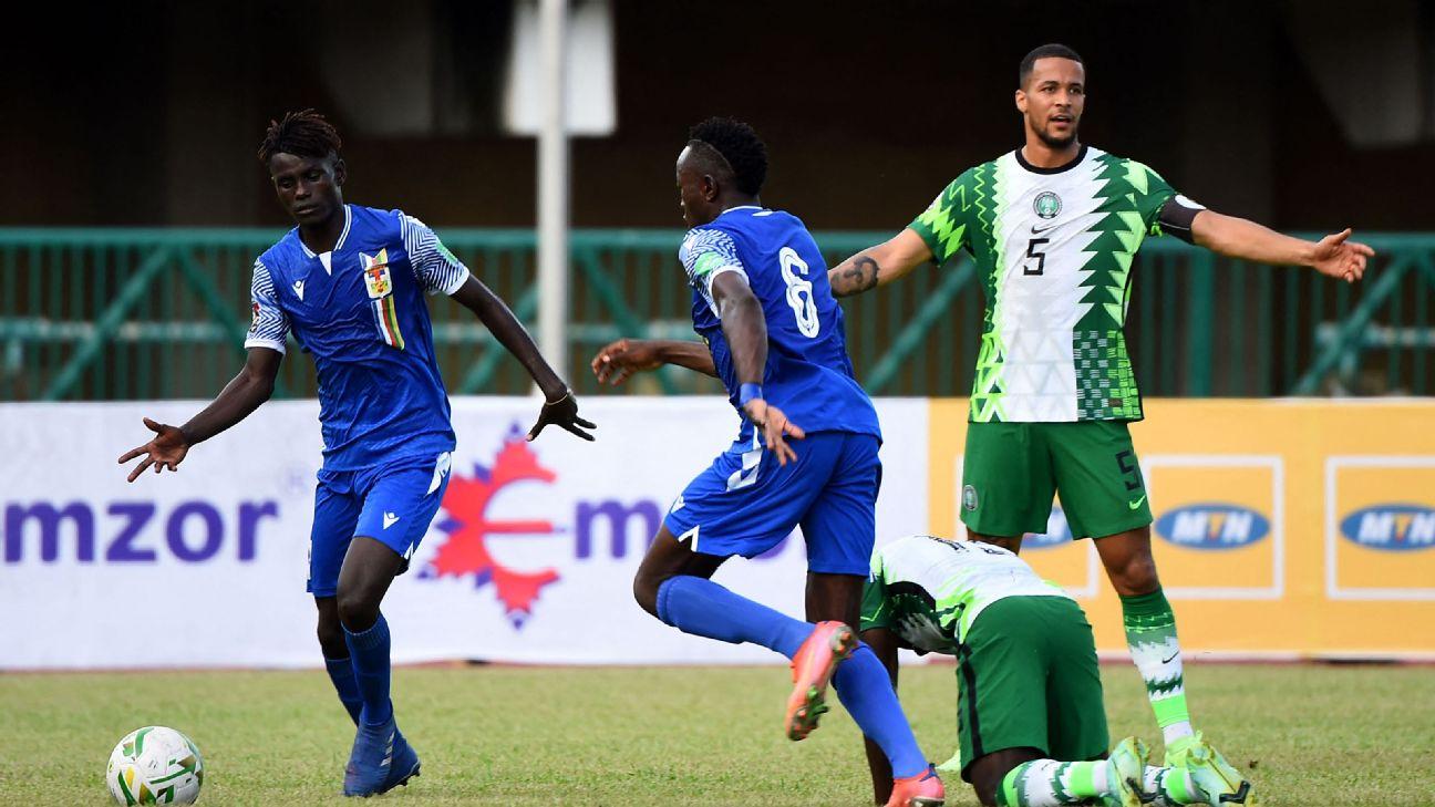 Ekong, Balogun not the only players at fault for loss to CAR, says Garba Lawal