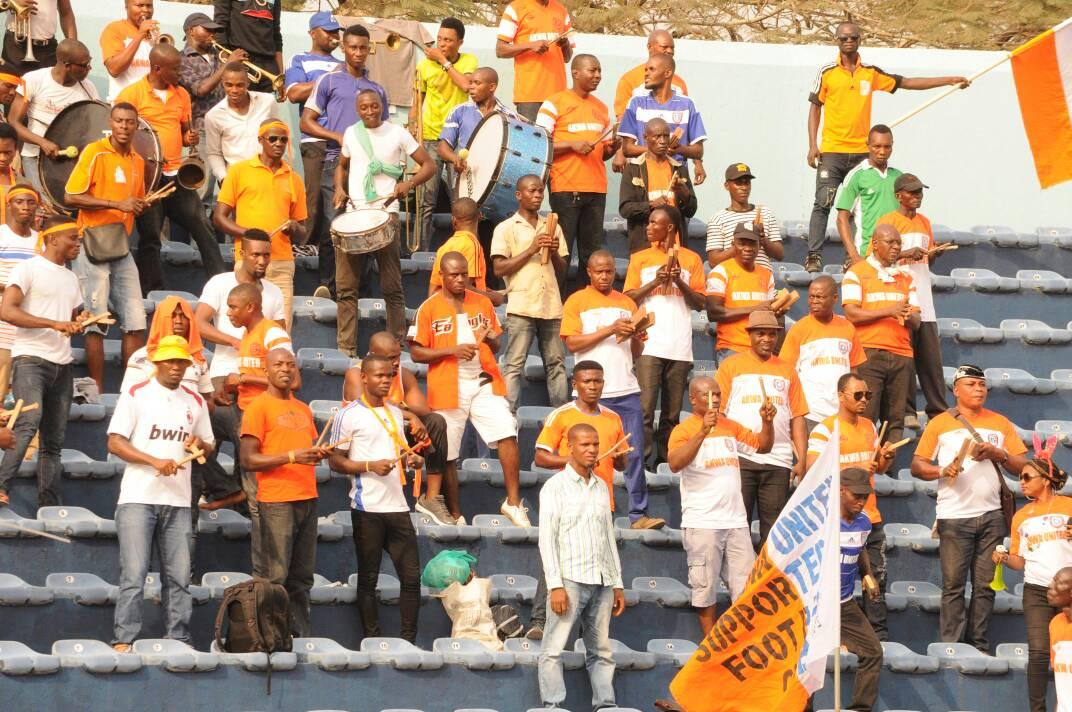 Akwa United Supporters Hail Team Performance