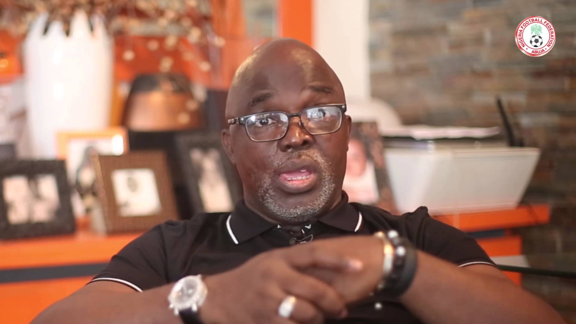 NFF Supremo Pinnick vows to set up team to reconcile aggrieved members