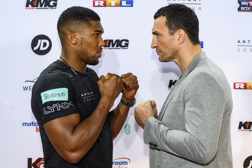 Anthony Joshua To fight Wladimir Klitschko at Wembley Stadium on April 29