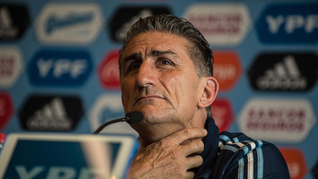 Argentina Gives Coach Edgardo Bauza The Boot After Eight Matches In Job