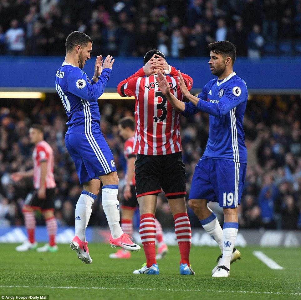 Chelsea 4-2 Southampton: Chelsea beat the saints in entertaining fashion