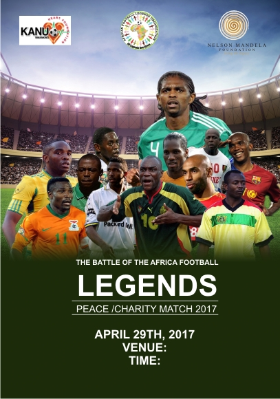 Kanu Shifts African Football legends' Match