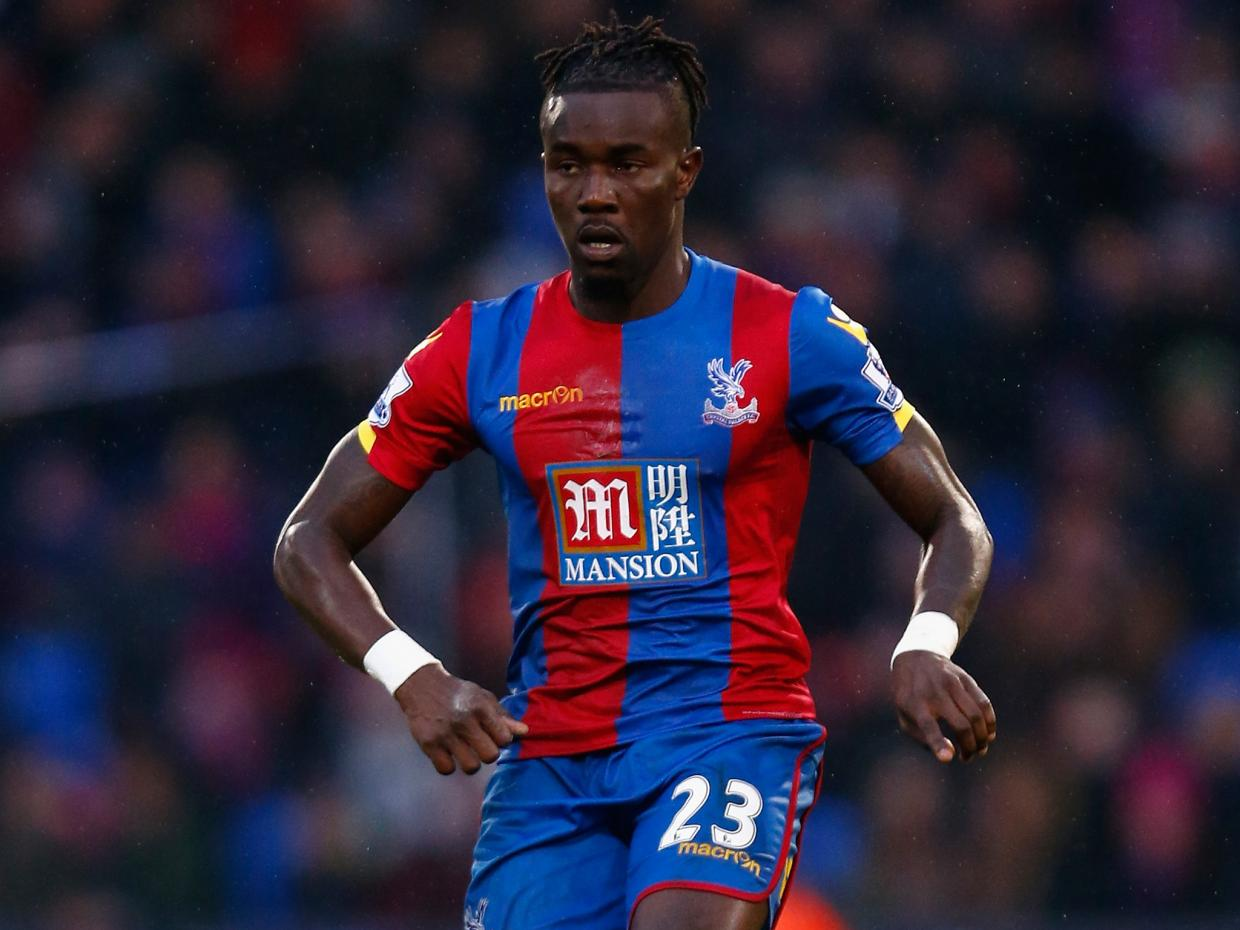 Pape Souare returns to Crystal Palace training seven months after horror car crash that threatened his career