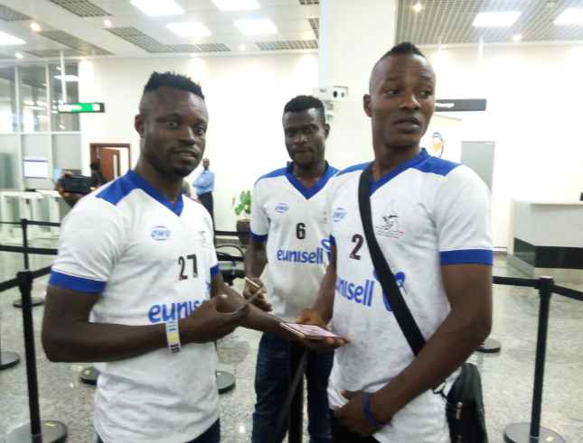 Anaezemba says Rivers Utd in Contention for CAF CC, as Team arrives Lagos