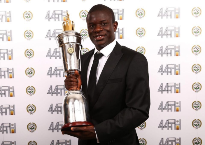 Kante crowned PFA Player of the Year 2017