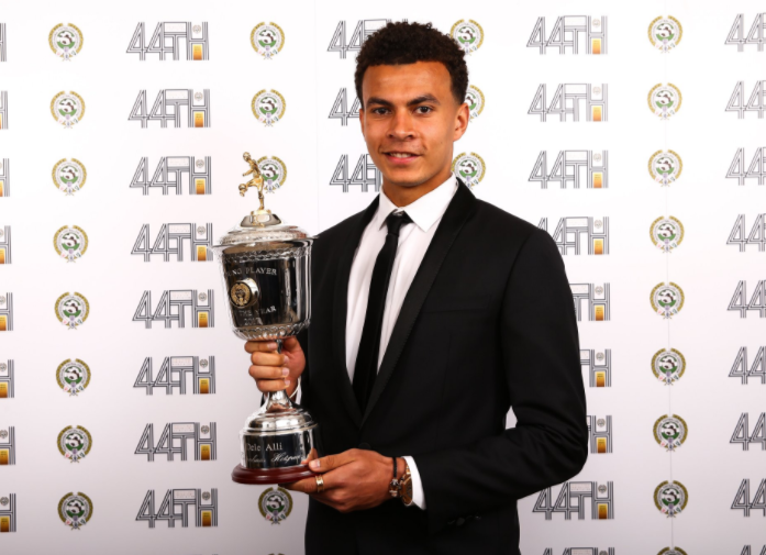 Alli wins PFA Young Player of the Year 2017…the second season in a row