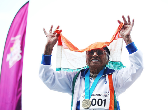 A World Master: 101-year-old woman wins 100m gold