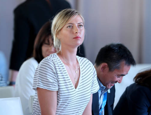 Sharapova's return divides rivals