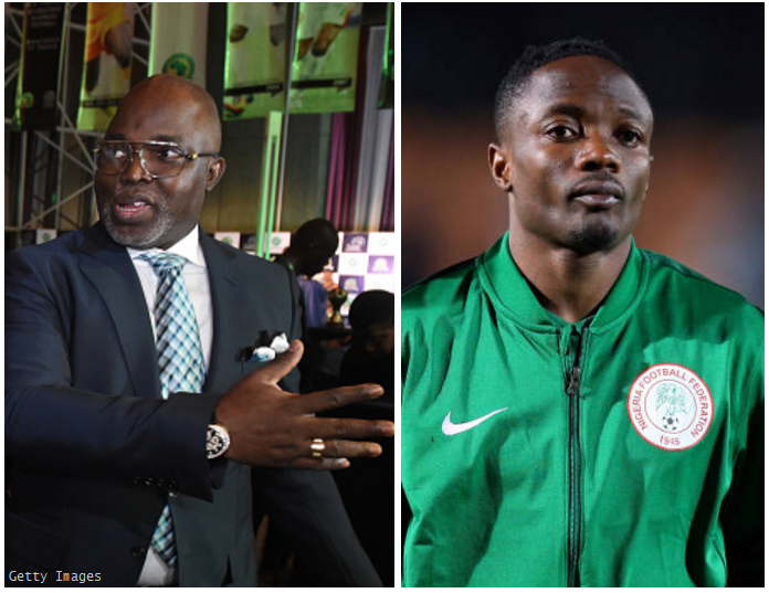 He's a Responsible Family Man! Pinnick Backs Ahmed Musa amid Wife Battery Allegations