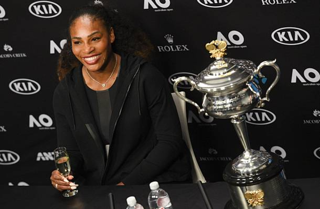 Serena accidentally spilled news of pregnancy after uploading picture on Snapchat by mistake