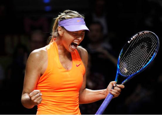 Sharapova makes a winning return to action