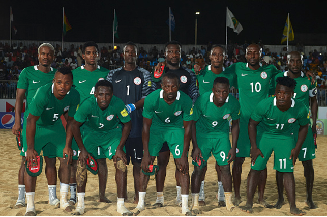 Beach Soccer World Cup: Nakande Advocates Sand Eagles Transition