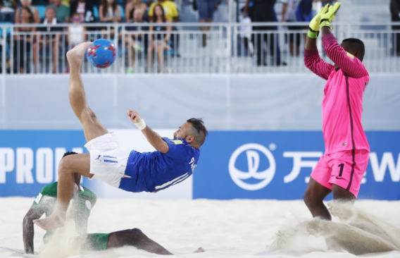 Bahamas 2017:  Italy beat Nigeria