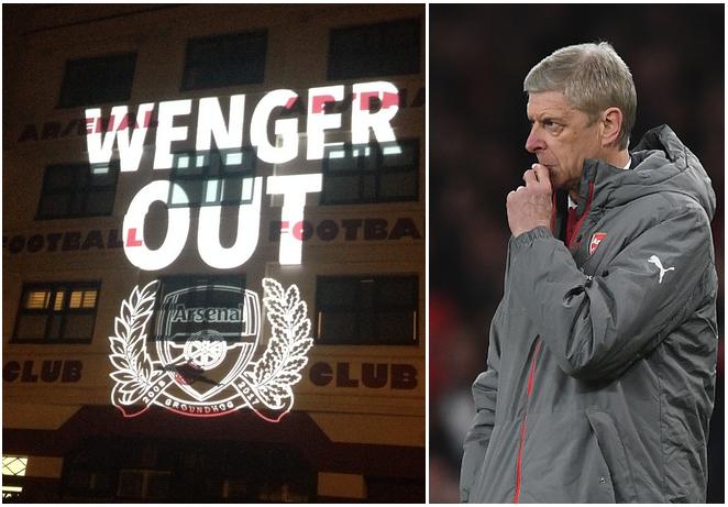 Wenger Out , Arsene Wenger