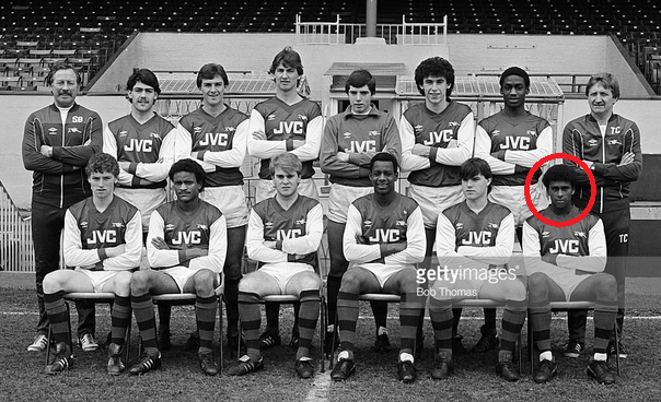 Iwobi Born to be a Gunner! 1984 Arsenal Youth Team Photo (12 Years before his birth) Proves it