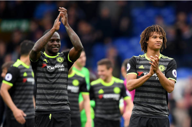 Victor Moses and Chelsea inching Closer to EPL Glory, Seal 3-0 win at Goodison Park