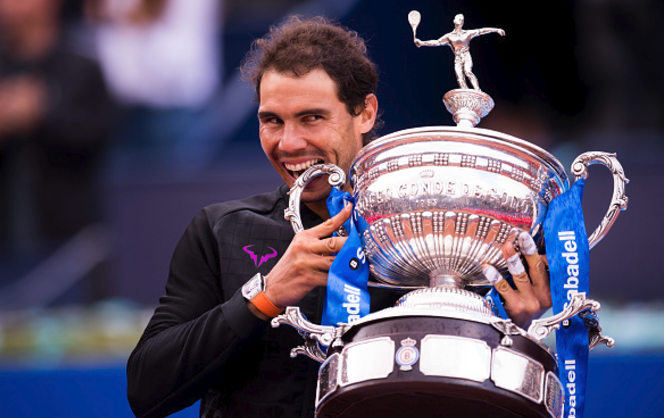 Nadal wins 10th Barcelona Open title as he sees off Dominic Thiem