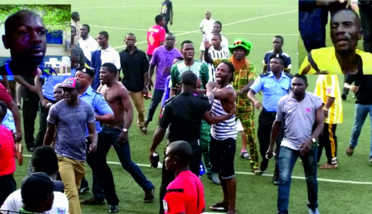 Referees Deserve Better , NFF Chief Condemns Kano Violence