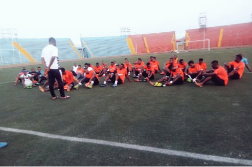 United Wraps Up Training Ahead Rayon Sports Clash
