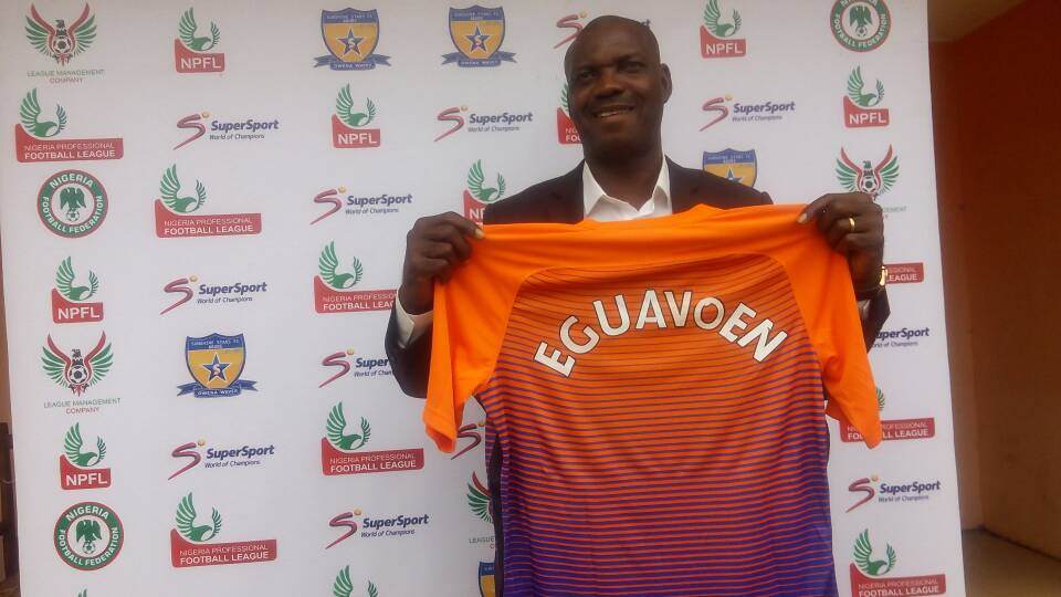 Eguavoen promises to stick with Sunshine stars