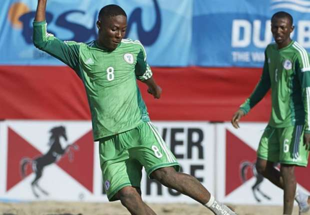 Abu Azeez chasing another Goals record after reaching Landmark 103-goals in Beach Soccer