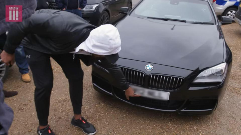 Anthony Joshua gives his first coach a brand new car
