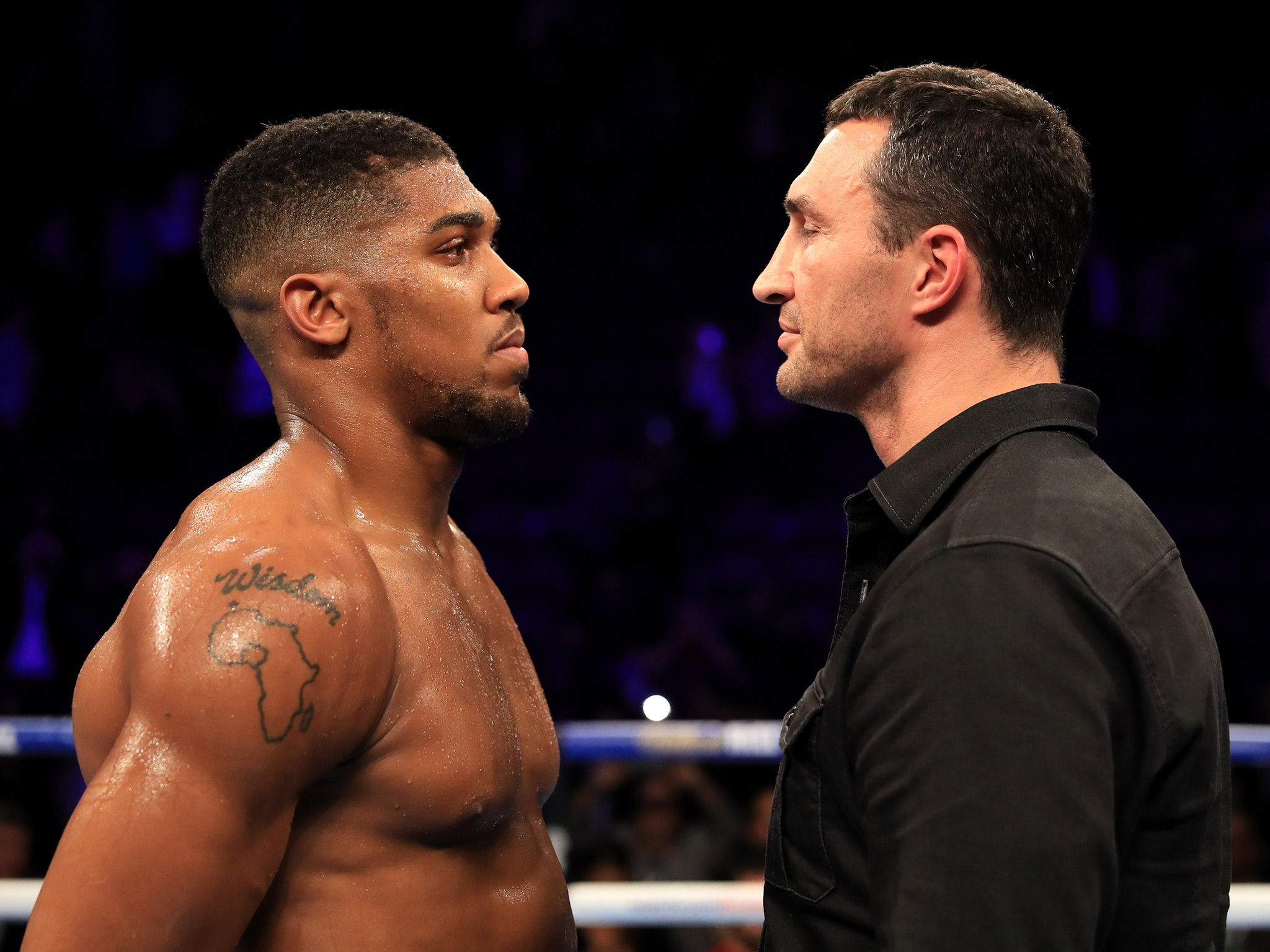 Anthony Joshua v Wladimir Klitschko: By the numbers