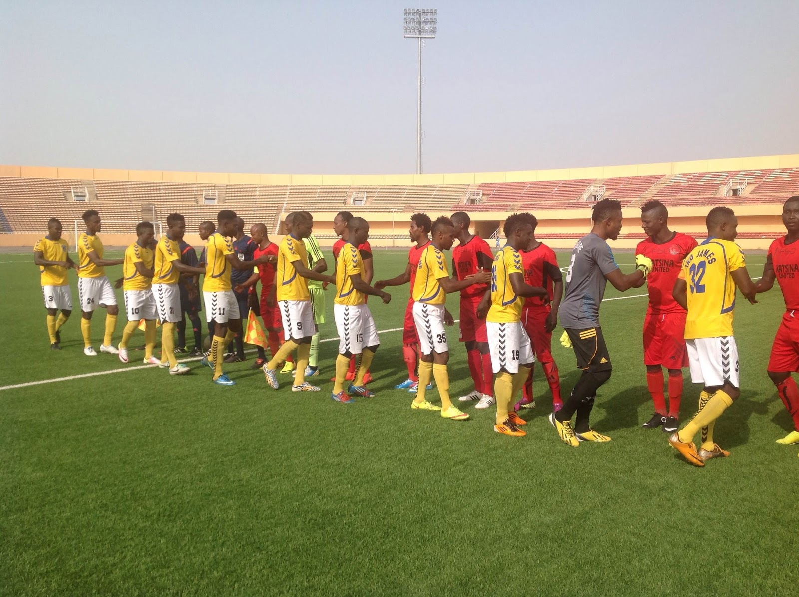 Katsina United host Rivers United behind closed doors