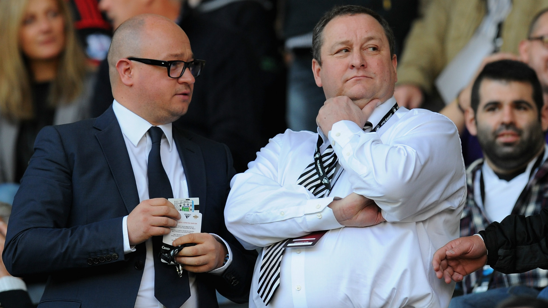 Image result for Mike Ashley Lee Charnley