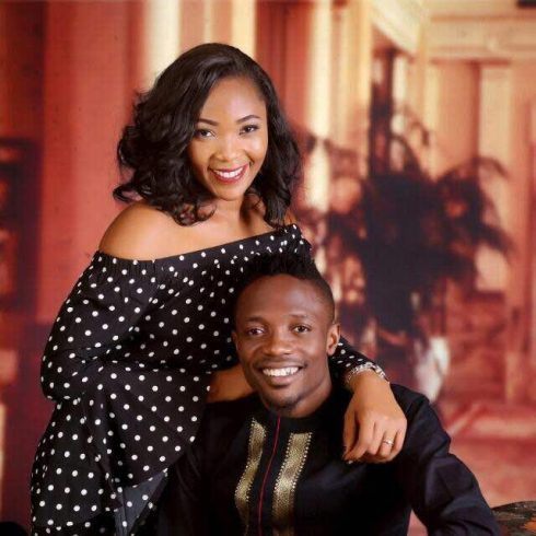 Speculations: Footballer Ahmed Musa and his girlfriend release pre-wedding photos?