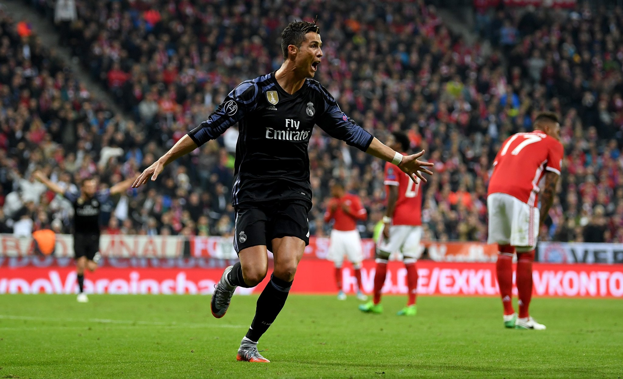 Ronaldo's Century Sinks Bayern Munich