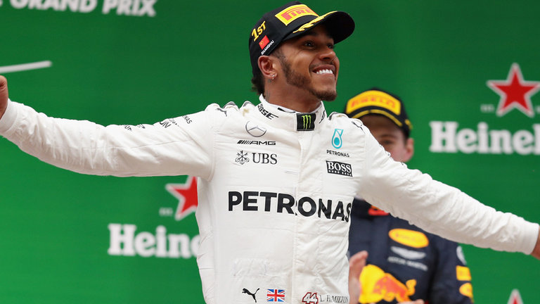 Lewis Hamilton claims his first win of F1 2017 in the Chinese GP