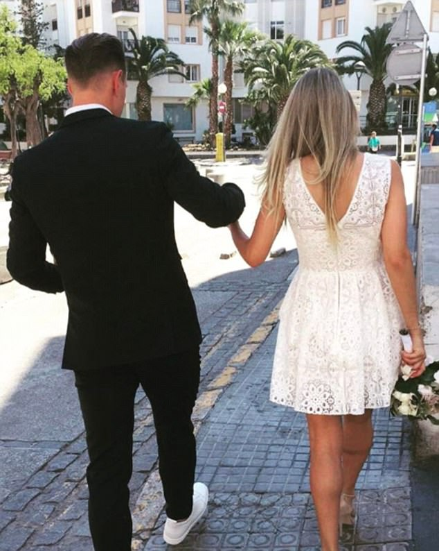 Ter Stegen proves himself as a real keeper as he ties the knot with his girlfriend.