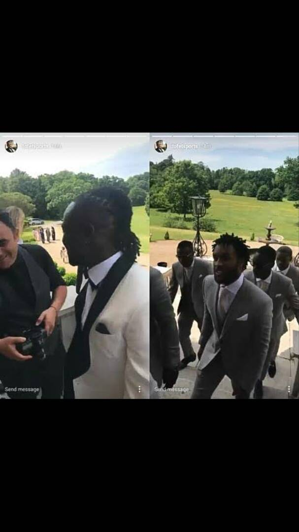 Victor Moses Marries long time Partner