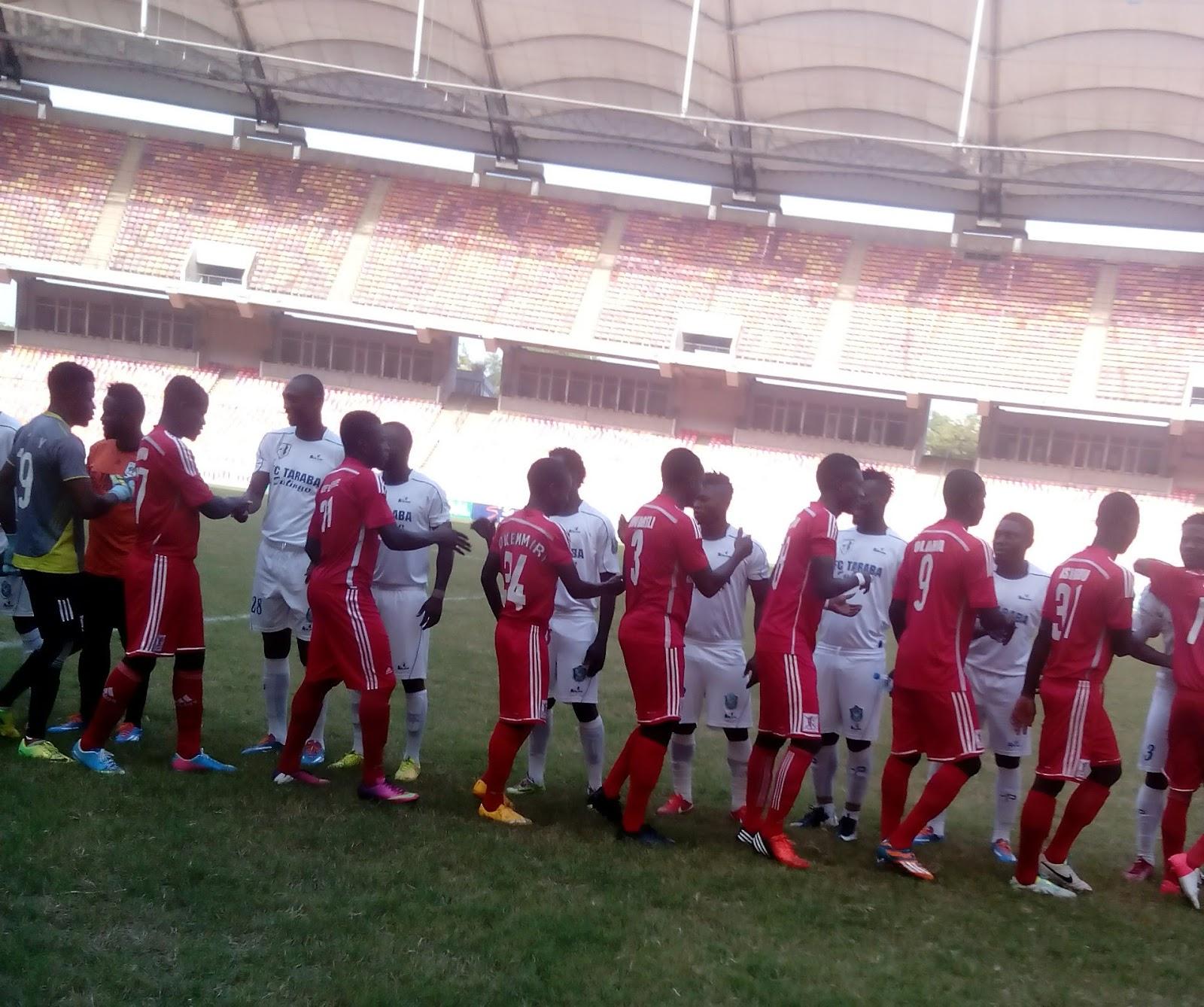 BET9JA NNL :FC Taraba Gets Caution For Absence In Match Day Nine