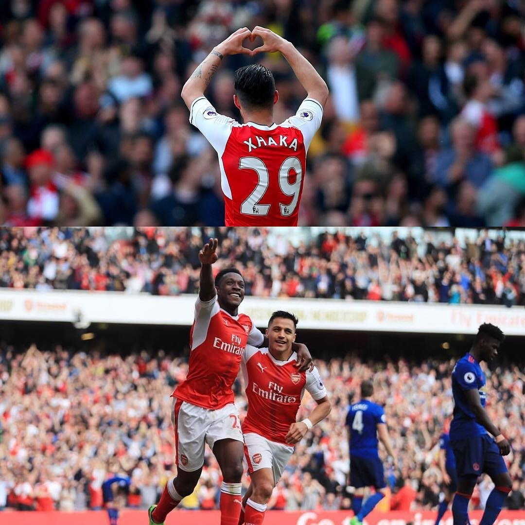 Arsenal Vs United: Wenger breaks United's unbeaten streak