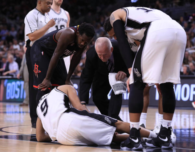 Parker has torn quadriceps tendon, Spurs Rule Him out for Remainder of Playoffs