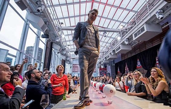 Chicago Fire new Man Schweinstiger Takes on the Runway