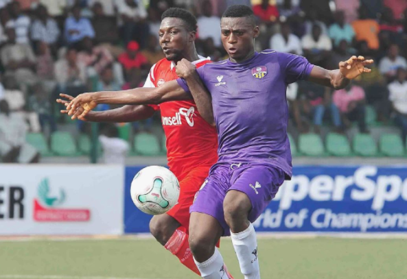 MFM FC Striker Stephen Odey in Europe on Facility Tour