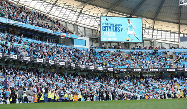 Manchester City banned for two years from signing players under 18
