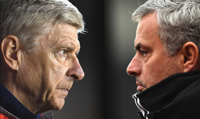 Mourinho claims he has buried the hatchet with Wenger…but says 'he doesn't need to make peace'