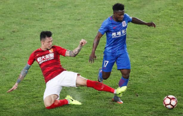 Obafemi Martins Scores, but Shanghai Shenhua Fall 3-2 in CSL Clash