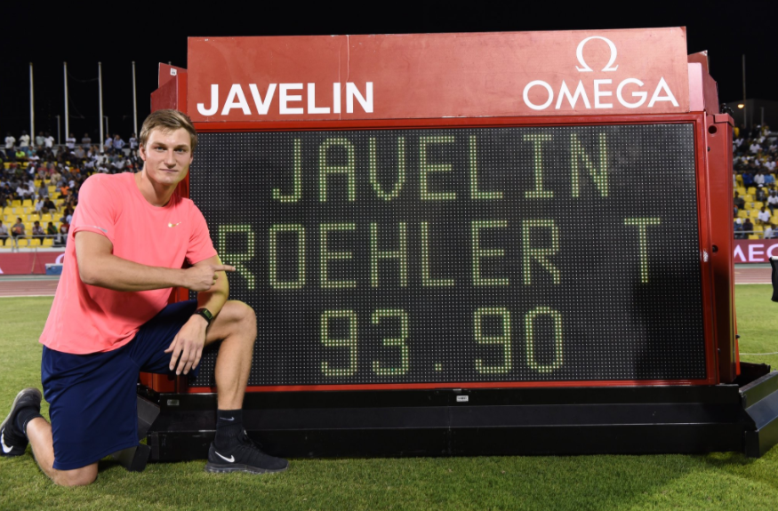 IAAF Diamond League: German Olympic Champion Stuns with Monster Javelin Throw
